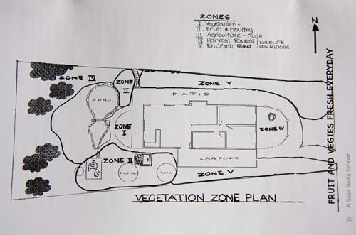 One of the site design plans thst Rosemary includes in her book