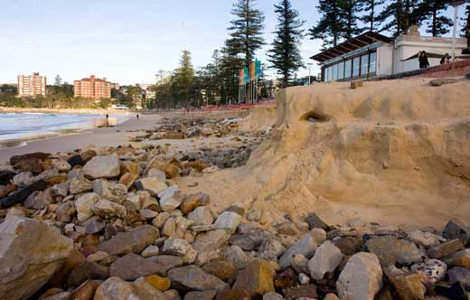Manly's beach - forever changing but always the same