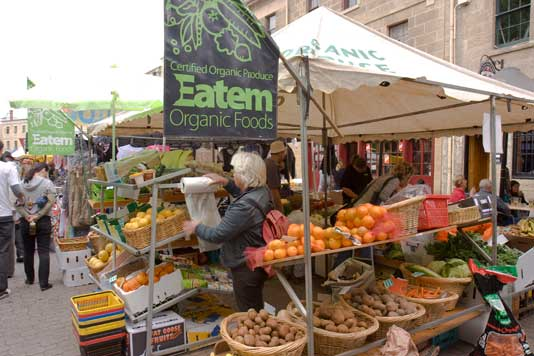 Organic food faces challenges
