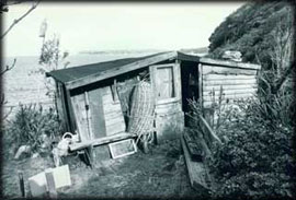 The Men's Hut, built in the late-1920s