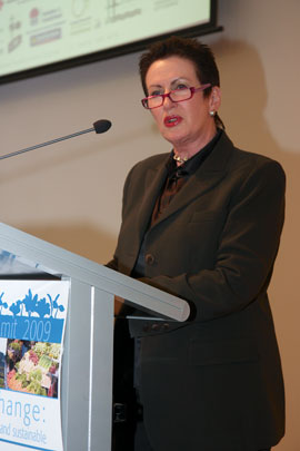 The Sydney Food Fairness Alliance's Food Summit was opened by the Lord Mayor of Sydney, Clover Moore.