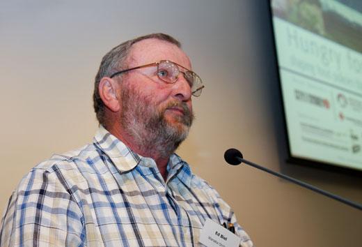 Sydney urban fringe foodland farmer, Ed Beale.