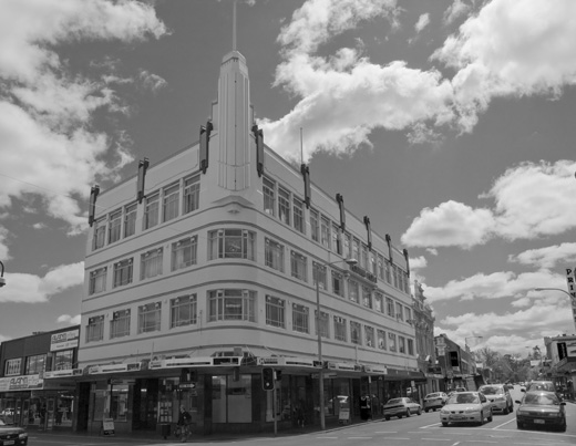 Holyman House is a fine example of the commercial Art Deco style and the most significant example of its type in Launceston.