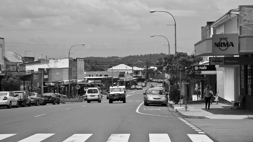 Wauchope — an authentic Australian country town that serves its surroundings rather than tourism.