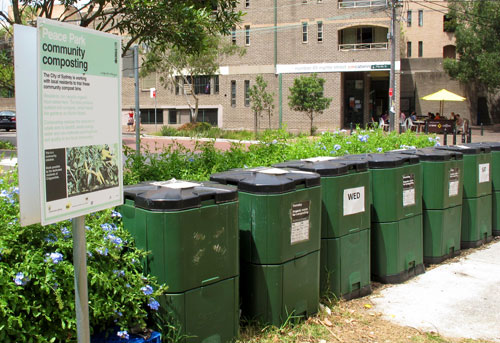 Community composting - think before acting