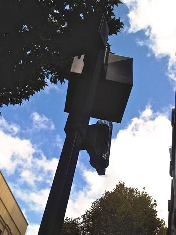 Urban heat island devices installed