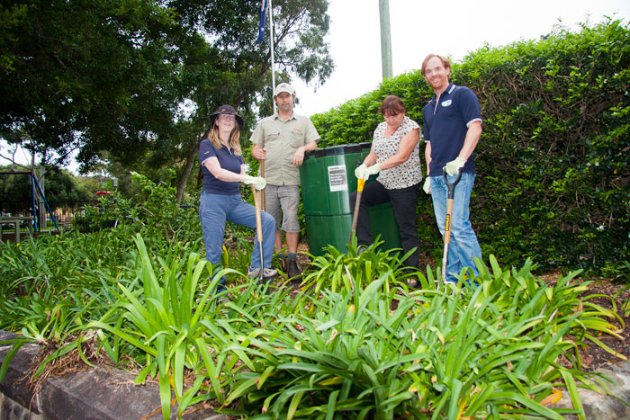 Day 1: A ripping time as gardeners create edible footpath garden