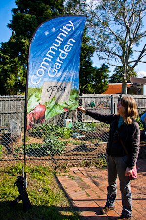 Social planning comes first in community garden design