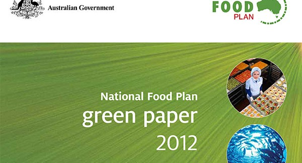 Media release on the National Food Plan