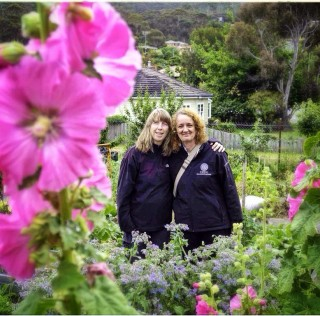 Advocates visit fertile fields of Taroona community garden
