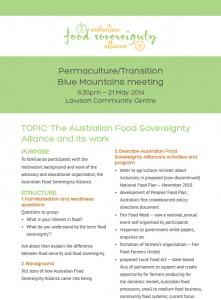 AFSA-presentation blue mtns notes May 2014