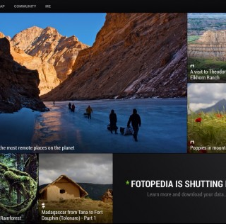 Goodbye Fotopedia — it's been a nice try