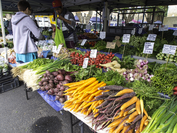 Farmers' markets make it possible for farmers to sell direct to customers, cutting out middlemen.