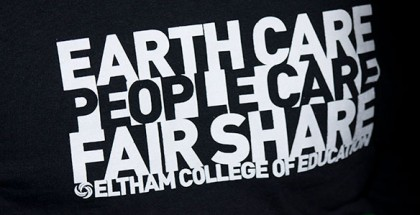 Eltham College permaculture Tshirt