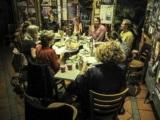 A Sydney cafe conversation organised by the Australian Food Sovereignty Alliance brought a number of food advocates and people from Sydney Food Fairness Alliance.