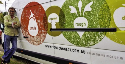 The Food Connect Foundation's Robert Pekin, a one-time dairy farmer, has combined managing Brisbane Food connect with developing a community food movement in Australia.