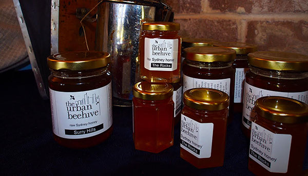 Building the regional food economy… Yhe Urban Beehive is a small honey business producing honey in Sydney's suburbs and the CBD. By supplying pure honey, proprieter, Dour Purdie, utilises local resources for local markets.