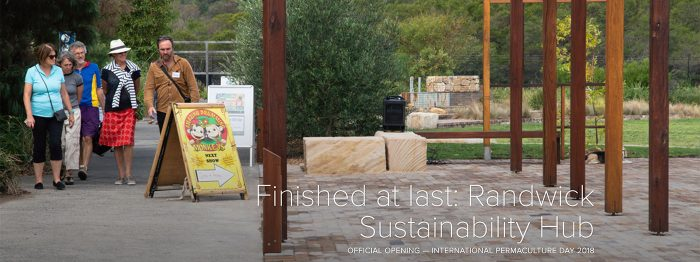 Finished at last: Randwick Sustainability Hub