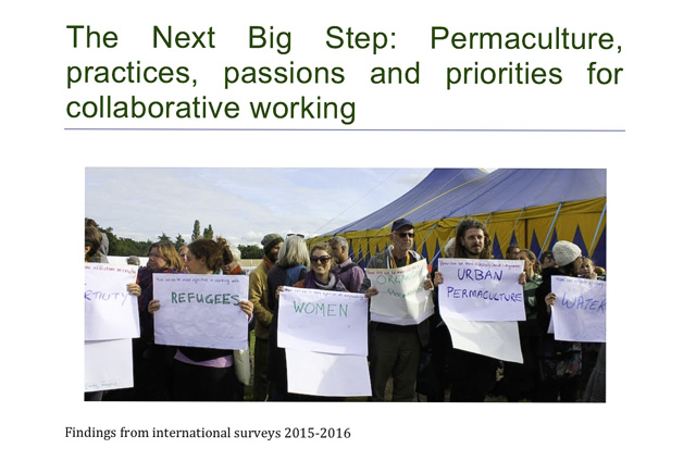 CoLab survey holds a mirror to permaculture practice