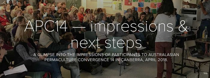 APC14 — impressions of a permaculture convergence
